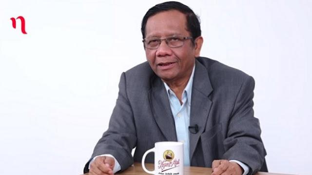 Ditanya oleh Najwa Mau Jadi Cawapres Jokowi?, Begini Jawaban Mahfud MD