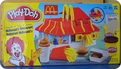 McDonalds Play-Doh Restaurant Playset