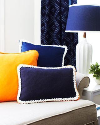 rope trim in pillows