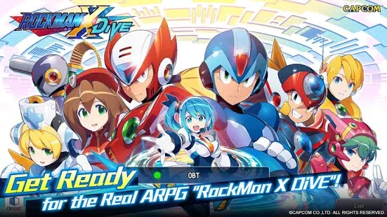 MEGA MAN X DiVE Apk Free on Android Game Download