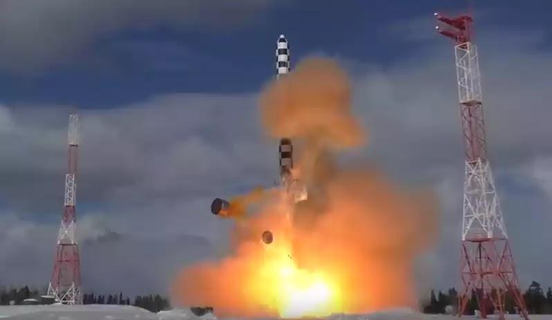 Ρωσία: Το πυραυλικό σύστημα Avangard τέθηκε σε λειτουργία
