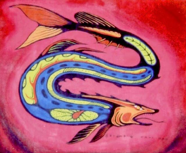Anishinini painter Carl Ray