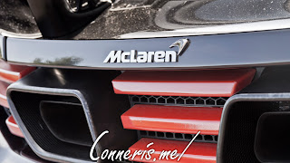 McLaren 12C Rear Badge Detail
