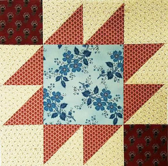 Civil War Quilts: Westering Women Block 2 Indian Territory : civil war quilt blocks - Adamdwight.com