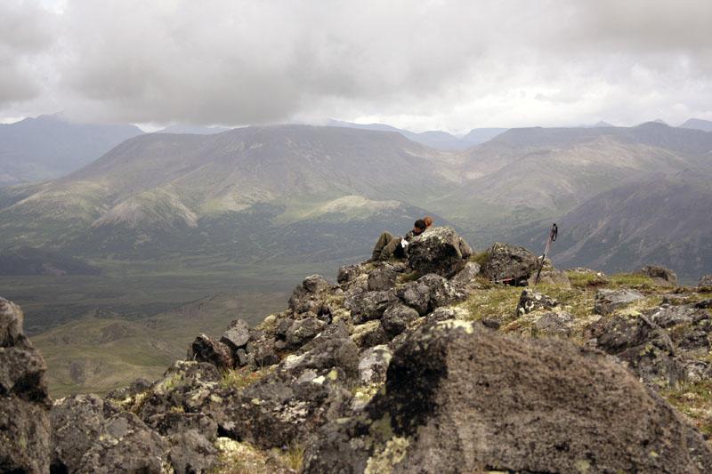 склоны ичинского вулкана камчатка