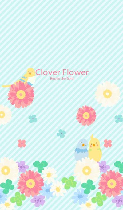 Clover Flower for World