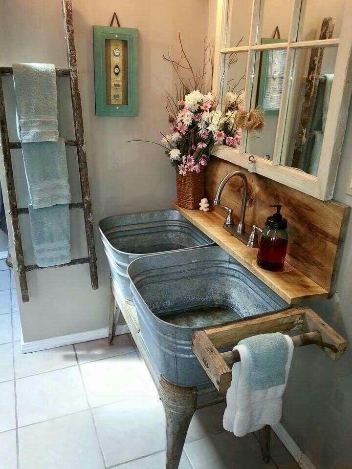 25 Decorating on a Budget DIY Rustic Bathroom Decor Ideas ... on Bathroom Ideas On A Budget  id=36317