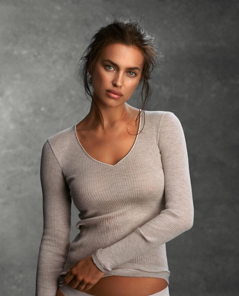 Irina Shayk stars in Intimissimi Every Wear Book Guide