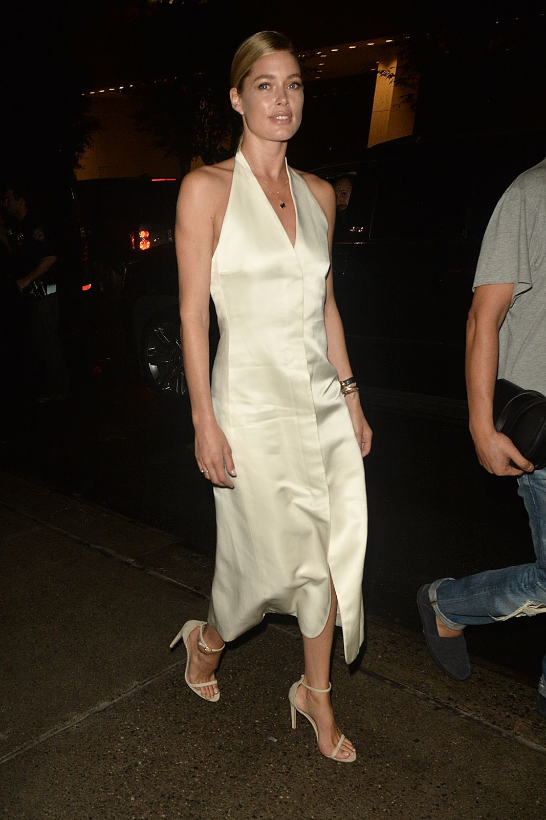 'Wonder Woman' actress Photos Doutzen Kroes At Harper's Bazaar Celebrates Icons By Carine Roitfeld, NY City