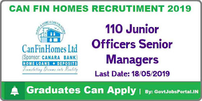 Can Fin Homes Recruitment 2019