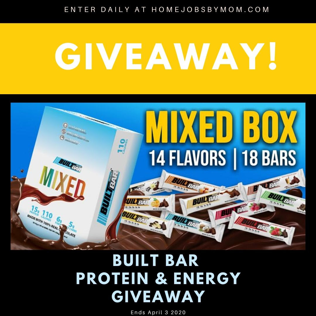 Built Bar Protein and Energy Giveaway