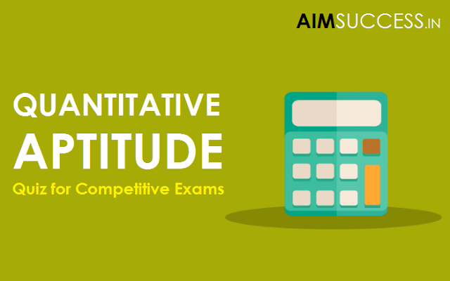 Quantitative Aptitude Quiz for IBPS Clerk/SO