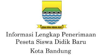 Pendaftaran PPDB Kota Bandung