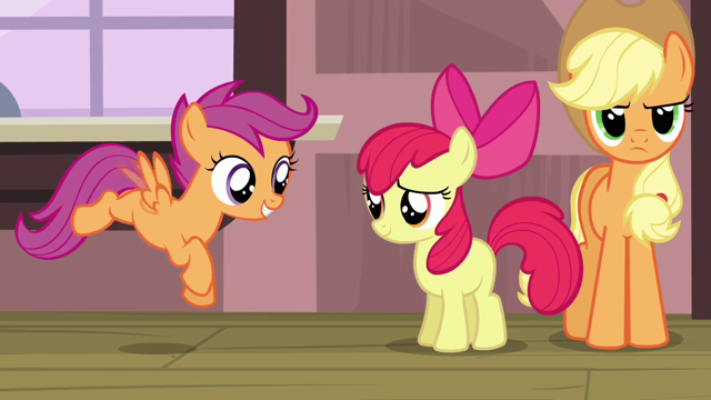 Trotting Through Life Scootaloo This card's artwork comes from: trotting through life blogger