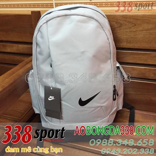 Balo Di Chuyển Bóng Đá Giá Rẻ Nike Xám