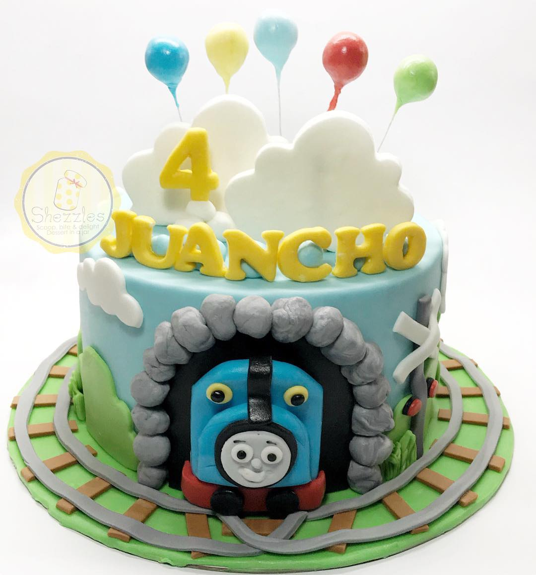Miraculous Shezzles Cakes And Pastries Thomas And Friends Theme Cake And Funny Birthday Cards Online Overcheapnameinfo