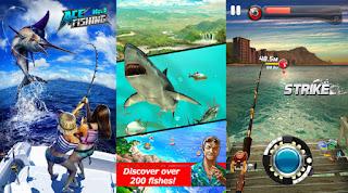 2. Ace Fishing: Wild Catch 9 (Harga: Gratis dengan pembelian dalam aplikasi)