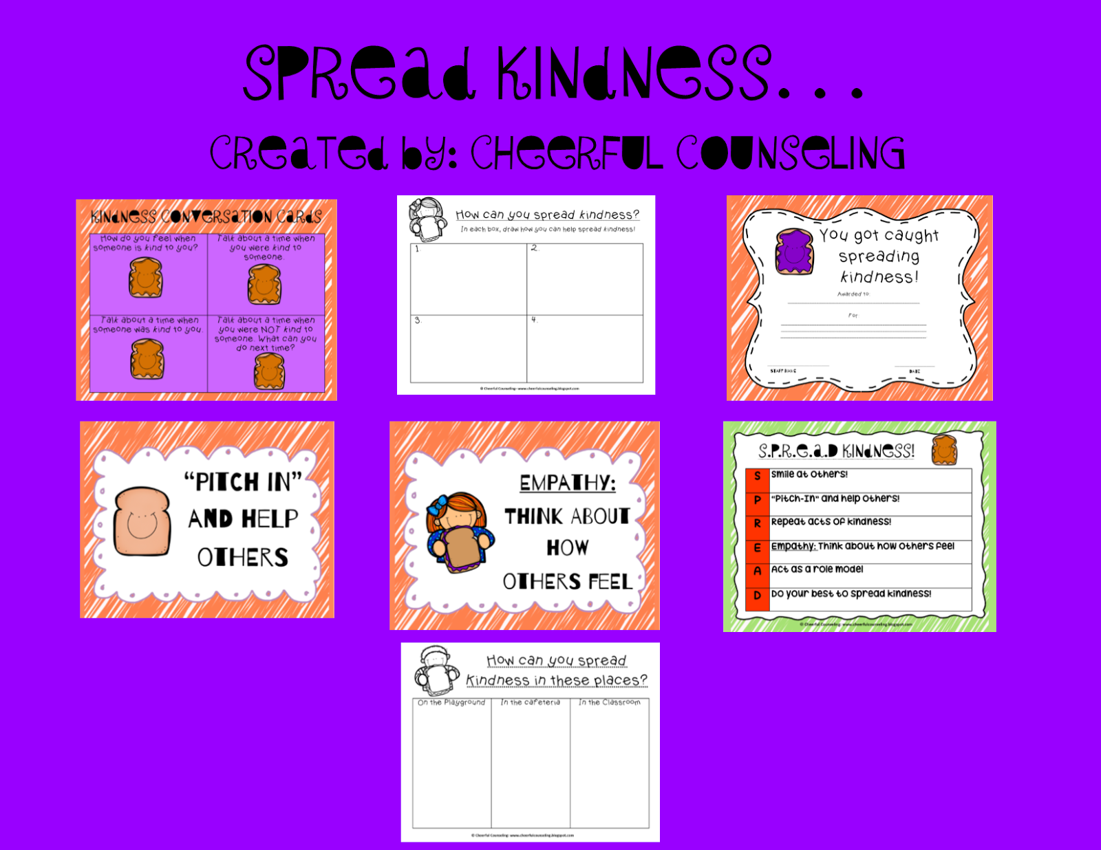 Cheerful Counseling Spreading Kindness