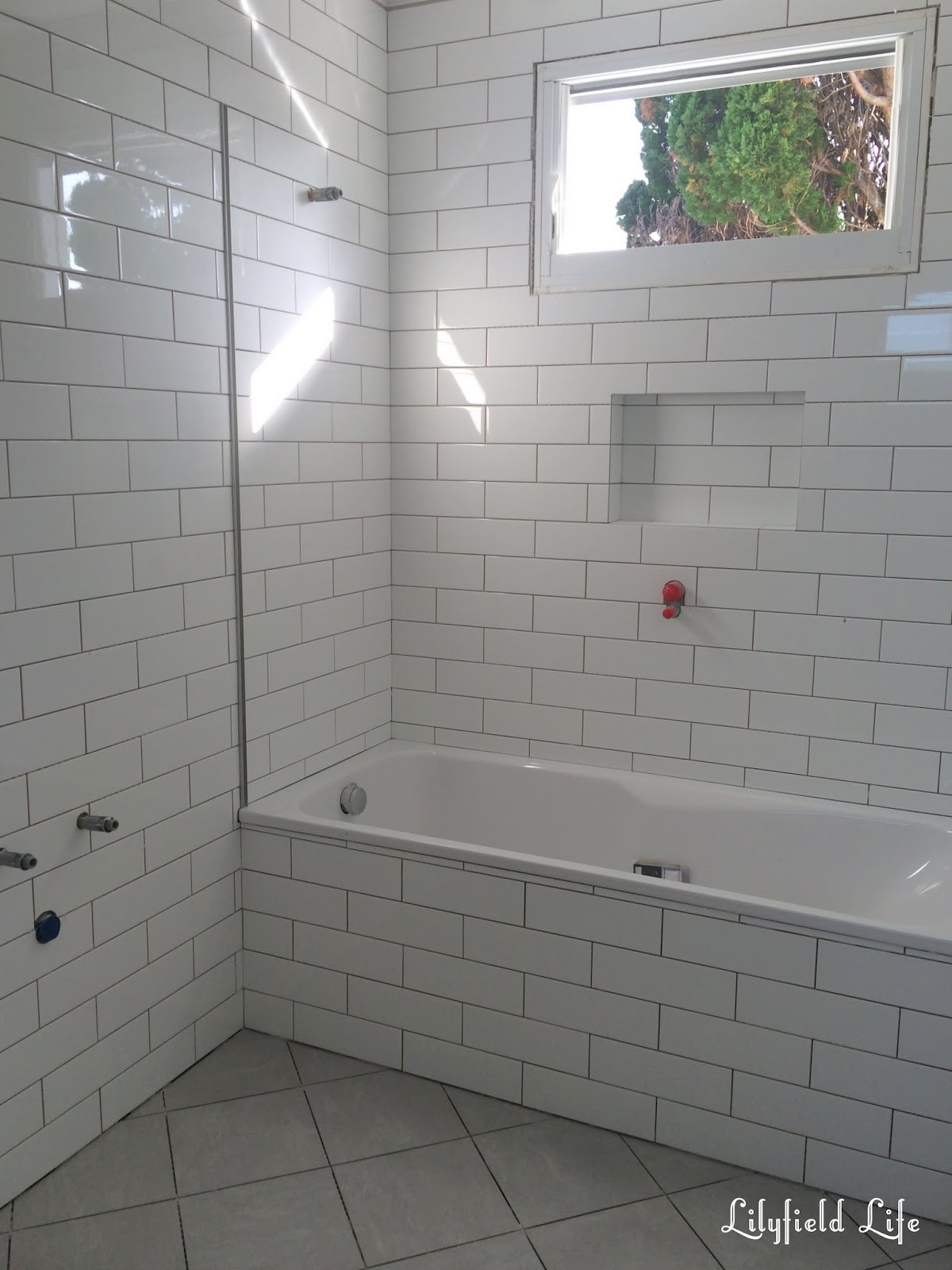 Downstairs Bathroom Ideas Lilyfield Life Subway Tiles Bathroom Renovation Progress