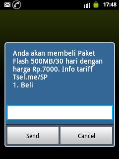 paket internet super murah 7 ribu Rupiah 500MB dari SimPATI