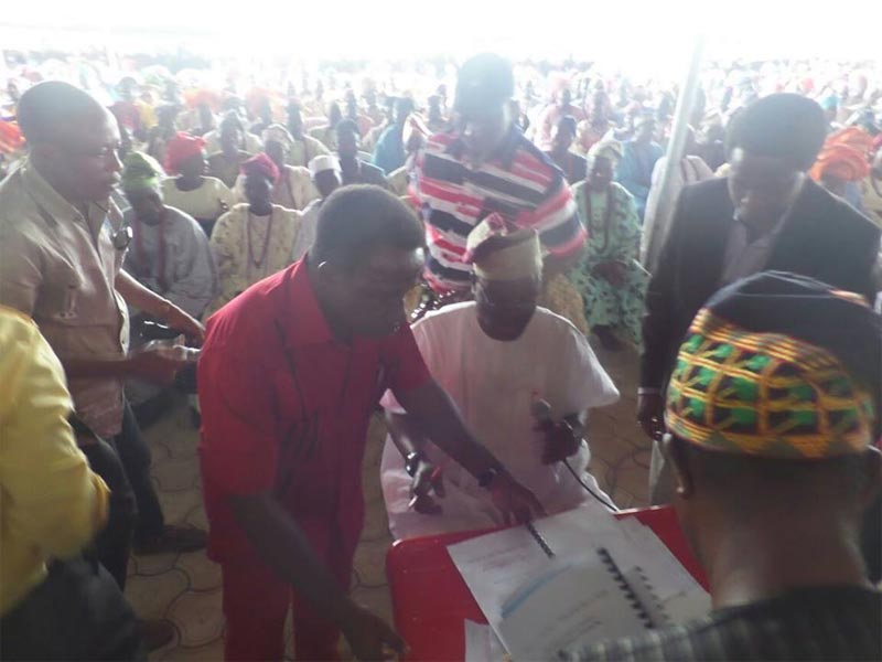 Photos: Fayose signs prohibition of open grazing into law in Ekiti State