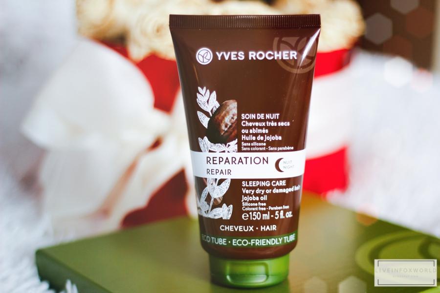 Yves Rocher Nočný regeneračný krém na vlasy