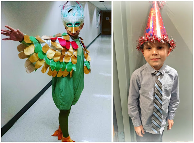 A Partridge and Pear Tree Costume