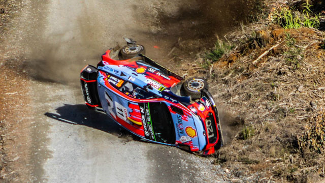 Terry Neuville explains the massive incident at the Chile Rally