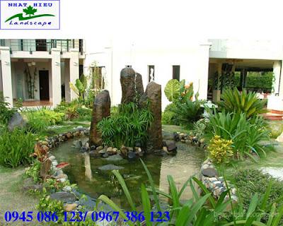 Tiểu cảnh sân vườn đẹp và phong thủy