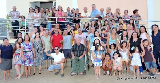 Tradicional família Deda se reúne em Santa Cruz do Capibaribe