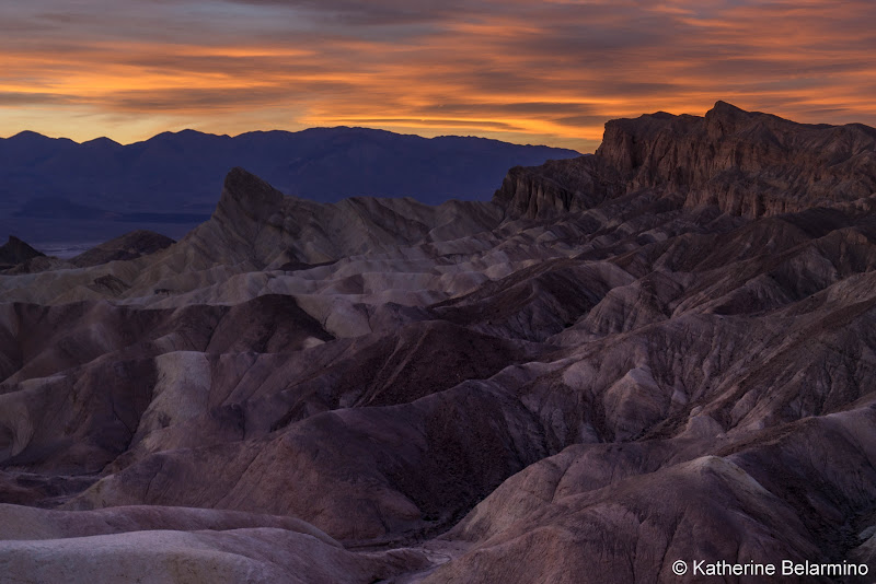 Zabriskie Point Death Valley Road Trip Itinerary