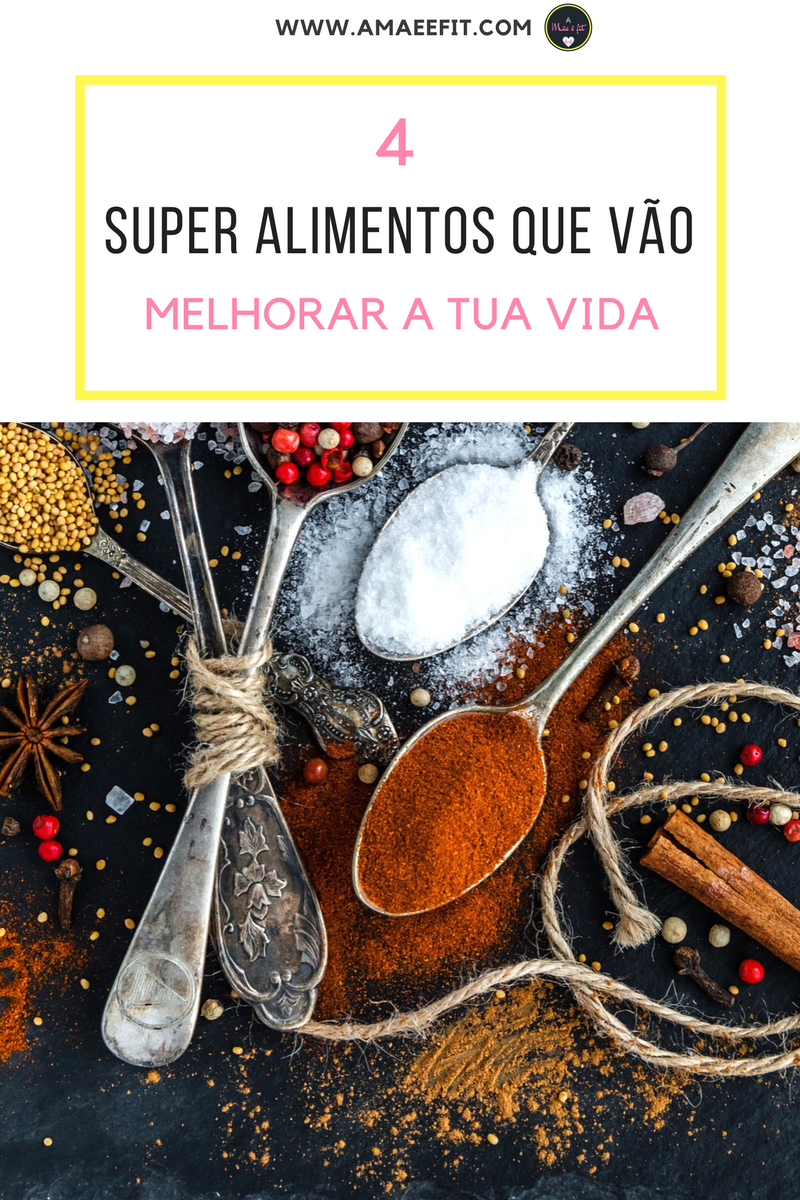 4 Super Alimentos Que Vão Melhorar a Tua Vida - www.amaeefit.com - Alimentação saudável, dicas para emagrecer,sementes, super alimentos