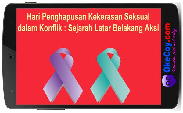hari penghapusan kekerasan seksual konflik sejarah latar belakang aksi
