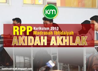 Kumpulan RPP Akidah Akhlak MI Kurikulum 2013