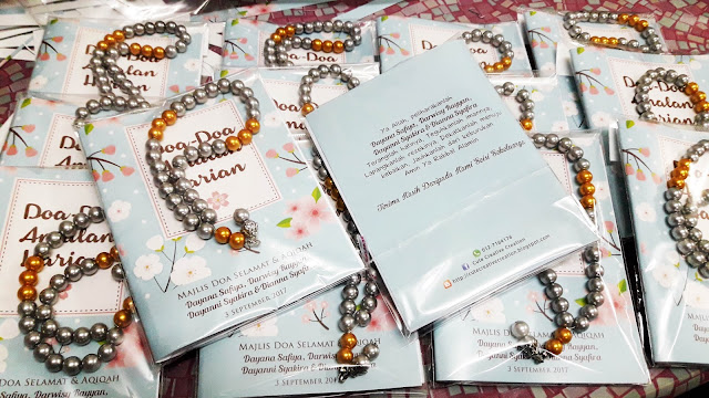 buku doa mini cenderahati