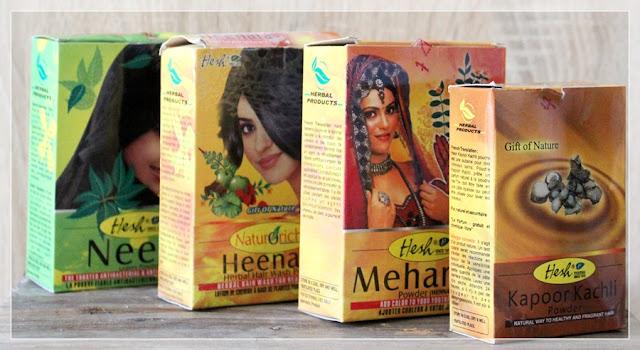Inwazja hinduskiej natury. HESH - naturalne kosmetyki rodem z Indii.