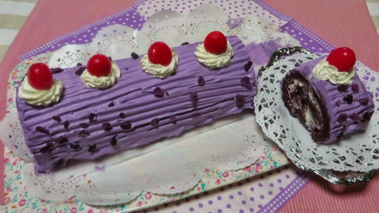 Ube Cake Recipe Using Fresh Ube