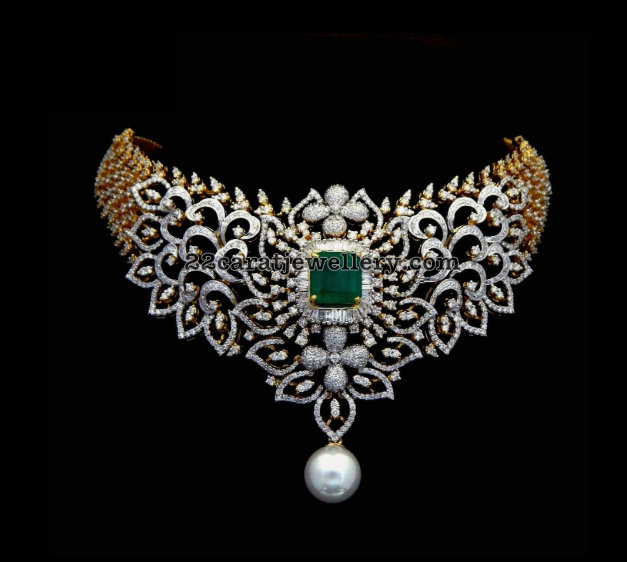 Exclusive Choker By Kothari Jewelry Jewellery Designs