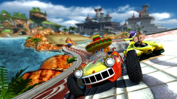 Sonic and SEGA All-Stars Racing PC Full Version Screenshot 3