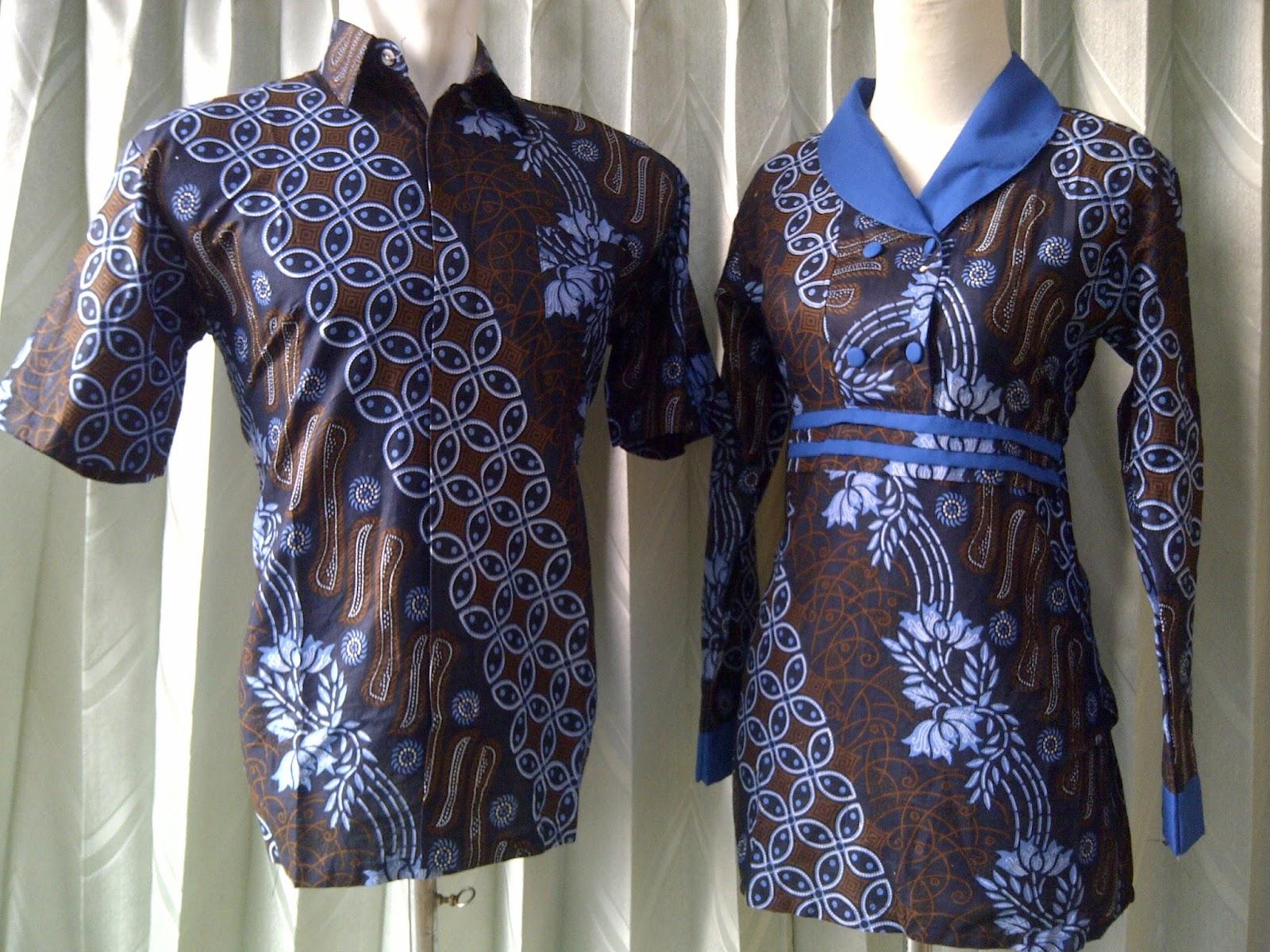 Baju Batik Sarimbit Untuk Lebaran Trend Baju Busana Muslim Modern c9ca4e508c