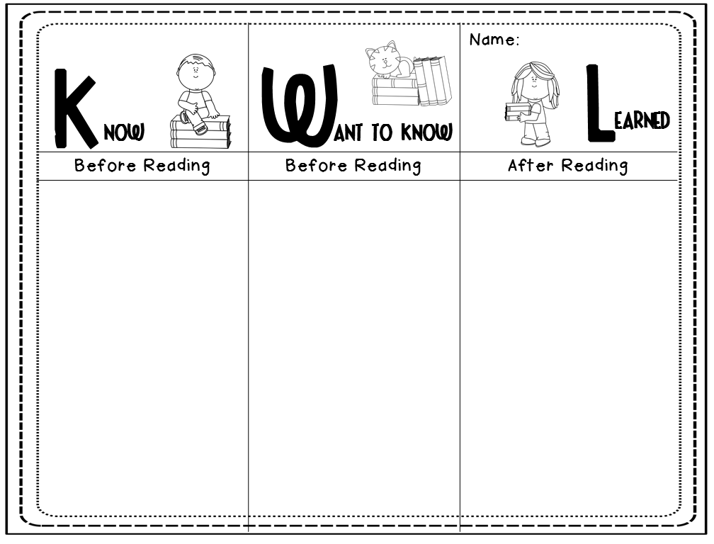 photo relating to Kwl Chart Printable referred to as Kwl Chart Upon Penguins Basic Include Letter Illustrations Letter