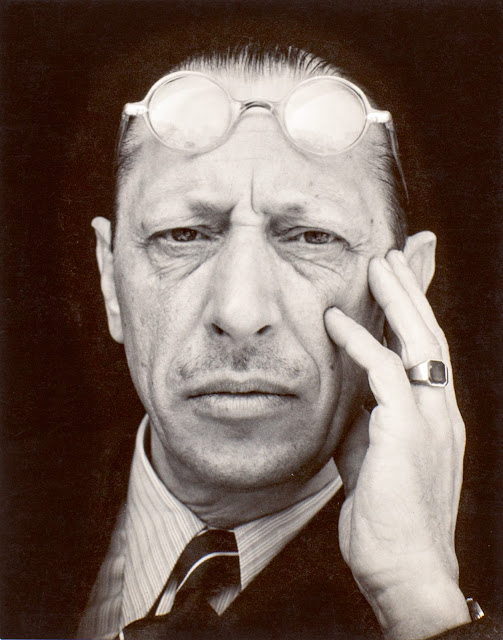 Edward Weston 1886-1958 Igor Stravinsky 1935 Photograph, gelatin silver print on paper 117 x 92 mm The Sir Elton John Photography Collection © 1981 Center for Creative Photography, Arizona Board of Regents