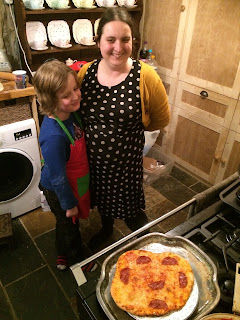 Proud pizza makers, make your own