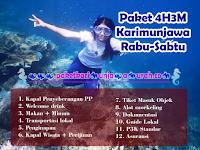 Paket Tour Karimunjawa 4H3M Hari Rabu-Sabtu