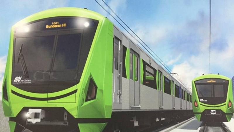 Gerbong kereta MRT yang disebut mirip jangkrik