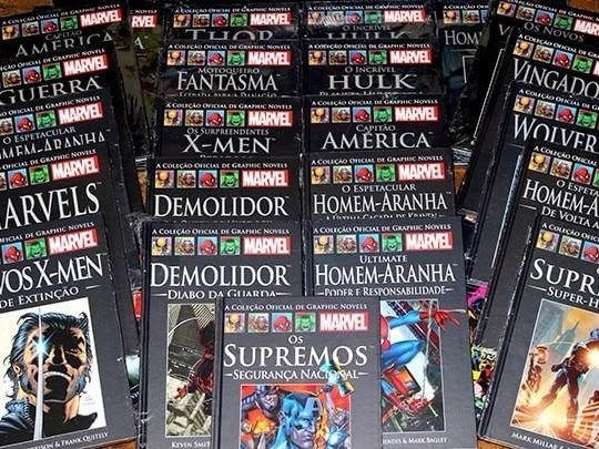 Salvat Brasil cancela coleções Marvel (Homem-Aranha e capa preta) e modifica periodicidade