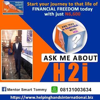 H2i Registration - Helping Hands International | H2i Login