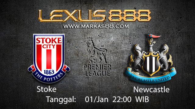 PREDIKSIBOLA - PREDIKSI TARUHAN BOLA STOKE VS NEWCASTLE 01 JANUARI 2018 ( ENGLISH PREMIER LEAGUE )
