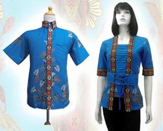 Baju Batik Couple Terbaru Tidak Sebanyak Kaos Couple Baju Batik