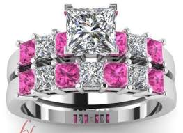Cheap Pink Wedding Rings